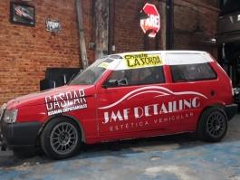 EL JMF RACING CON DOS AUTOS